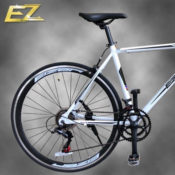 ロードバイク 700C シマノ14段変速 エアロホイール 40mm エントリーモデル 自転車本体 通勤 通学に最適 700CX23C EIZER RB200 isshoudou 15