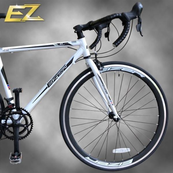 ロードバイク 700C シマノ14段変速 エアロホイール 40mm エントリーモデル 自転車本体 通勤 通学に最適 700CX23C EIZER RB200 isshoudou 16