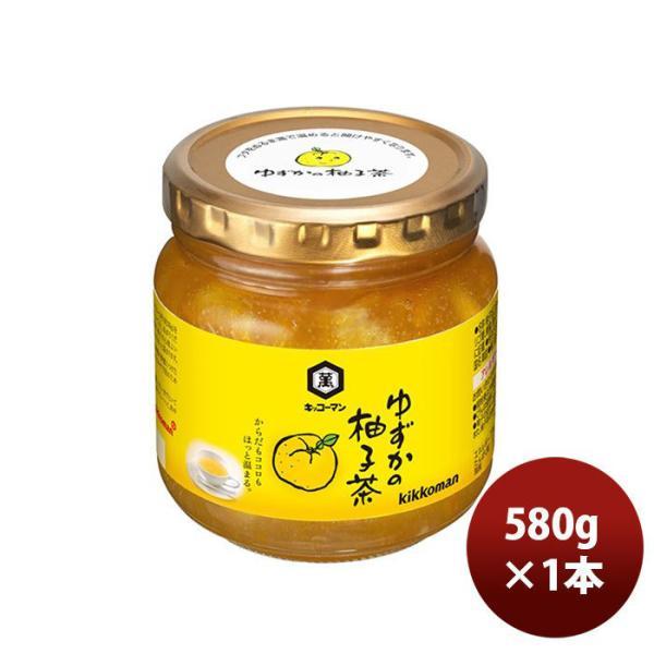 キッコーマン ゆずかの柚子茶 580G 1本