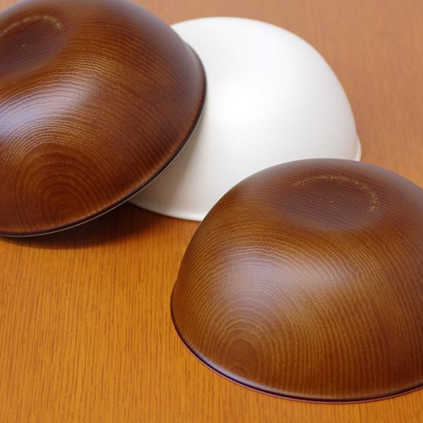 木目ボウル LL 日本製 人気 北欧風 プラスチック 食器 取り皿 テーブルウェア|issoecco|03