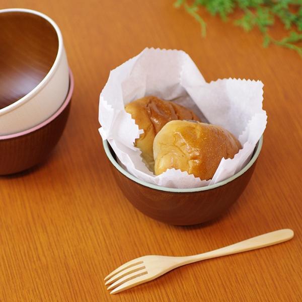 木目ボウル M 日本製 人気 北欧風 プラスチック 食器 取り皿 テーブルウェア|issoecco|06