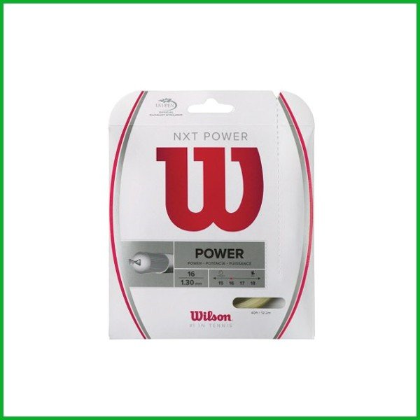 Wilson NXT POWER 16 WRZ941600 ウィルソン 硬式テニス ストリング