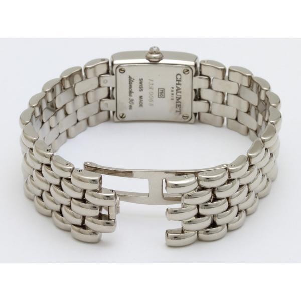 ショーメ ケイシス K18WG 12Pダイヤ文字盤ダイヤ レディス 腕時計