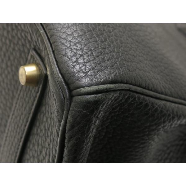 エルメス バーキン35 ブラックXゴールド金具 Z刻印|isuzu78quality|05