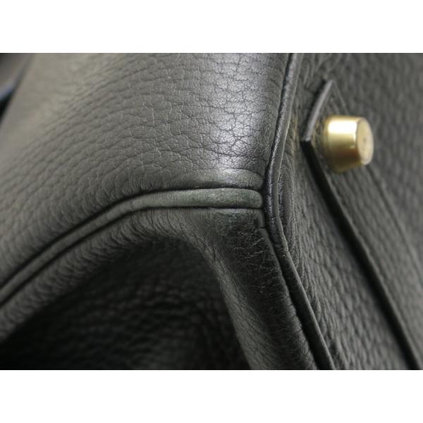 エルメス バーキン35 ブラックXゴールド金具 Z刻印|isuzu78quality|06