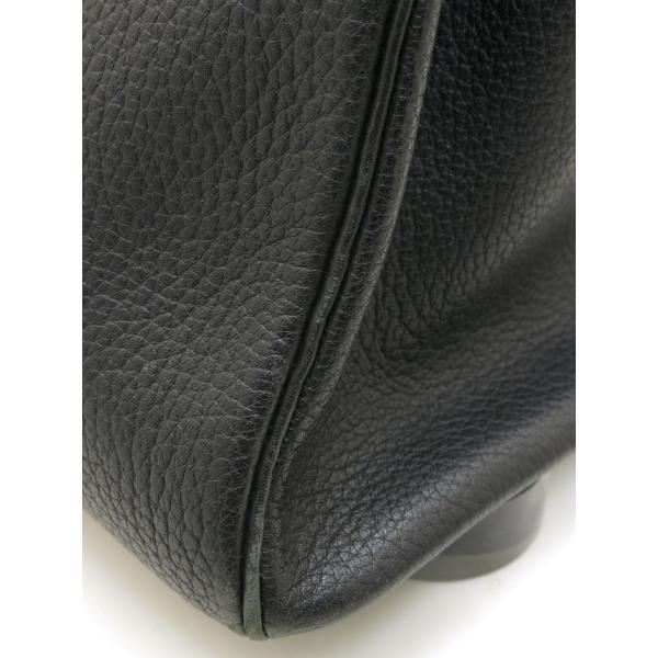 エルメス バーキン35 ブラックXゴールド金具 Z刻印|isuzu78quality|10