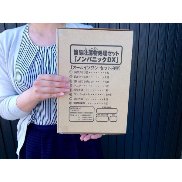 簡易吐瀉物処理セット 「ノンパニックDX」10個セット isyokenmei