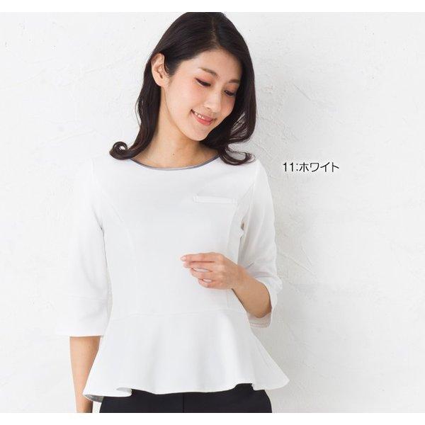 お辞儀する姿が美しい ペプラムカットソー|isyokujiyu-femme|07