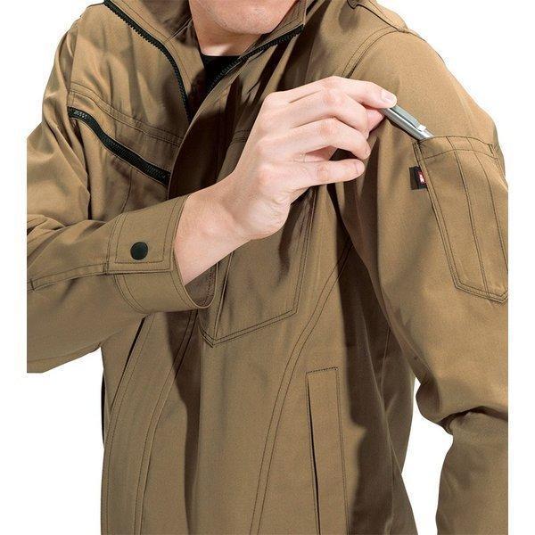 ●あすつく●6081 長袖ジャケットかっこいい作業服・かっこいい作業着・春夏用メンズバートル(BURTLE)(大きいサイズ 3L 4L 5L対応)|isyokujiyu|03