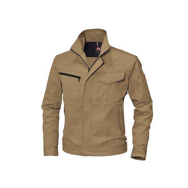 ●あすつく●6081 長袖ジャケットかっこいい作業服・かっこいい作業着・春夏用メンズバートル(BURTLE)(大きいサイズ 3L 4L 5L対応)|isyokujiyu|05