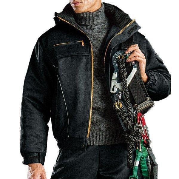 かっこいい作業服 かっこいい作業着 秋冬用メンズバートル BURTLE 7110 防寒ブルゾン 大型フード付  3L 4L 5L対応  ジャケット ジャンパー 防寒着