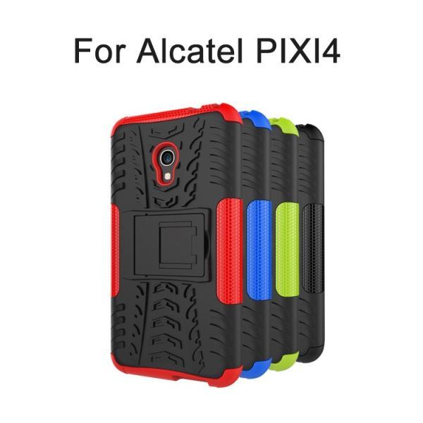Alcatel PIXI 4 ケース 耐衝撃 タフで頑丈 2重構造 TPU素材 Alcatel PIXI 4  5インチ 耐衝撃カ  スマートフォン/スマフォ/スマホケース/カバー it-donya