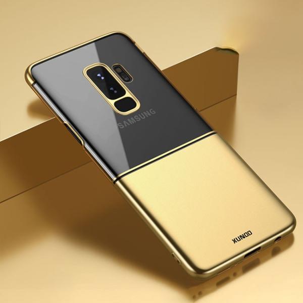 Galaxy S9+ クリアケース シンプル メッキ かっこいい サムソン サムスン ギャラクシーS9+ 透明/SC-03K / SCV39スマートフォン/スマフォ/スマホケース/カバー it-donya