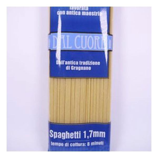 パスタ スパゲッティ 1.7mm 500g ダル クオーレ社 イタリア産|italiatanicha2