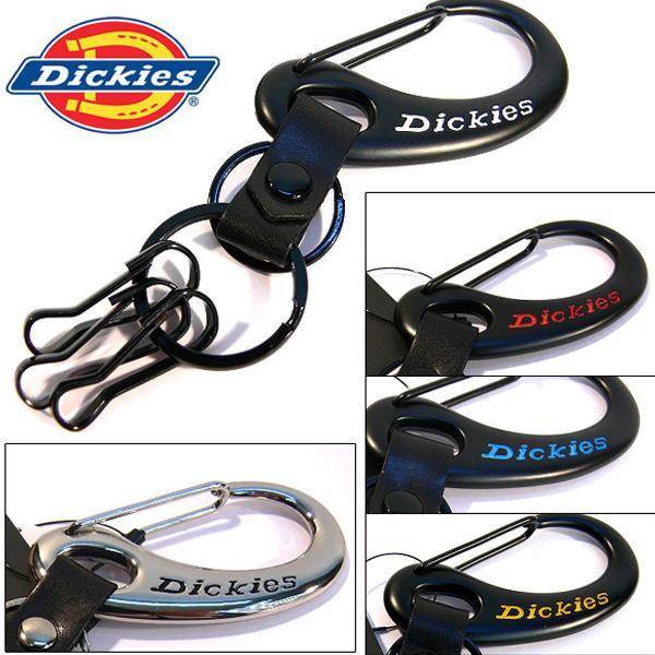 ディッキーズ Dickies キーホルダー 本革 牛皮 カラビナウォレットチェーン カギ 鍵 (定形外郵便配送可能/2個まで)|italico