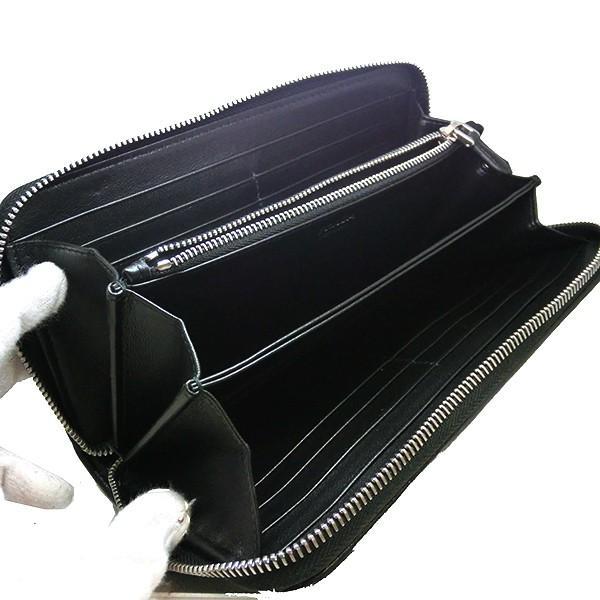 プラダ 長財布 PRADA キルティング ナッパ レザー ブラック ラウンドファスナー 黒 1ML506 2B0X F0002/NAPPA IMPUNTURE  (t812-1) italybag 04