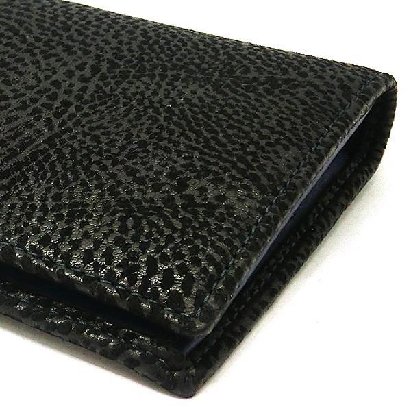 二つ折り長財布 本革 フラップ ブラックレザー 財布 メンズ ダビデアルベルタリオ DAVIDE ALBERTARIO(t807-1) 2041nb|italybag|05