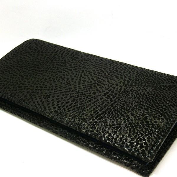 二つ折り長財布 本革 フラップ ブラックレザー 財布 メンズ ダビデアルベルタリオ DAVIDE ALBERTARIO(t807-1) 2041nb|italybag|06