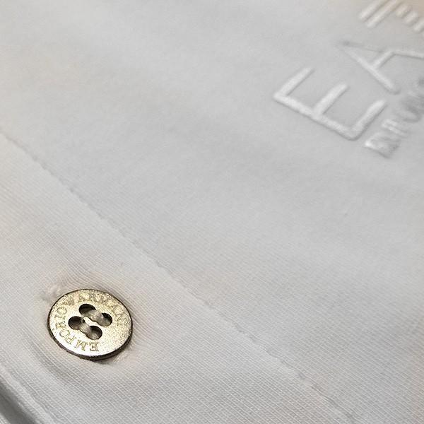 EMPORIO ARMANI EA7 エンポリオ アルマーニ エアセッテ イーエーセブン ポロシャツ 白 ホワイト メンズ トップス (t907)|italybag|05