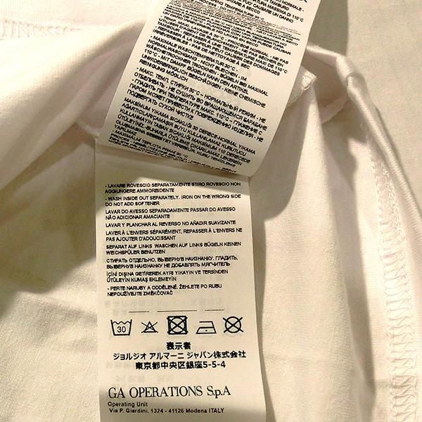 EMPORIO ARMANI EA7 エンポリオ アルマーニ エアセッテ イーエーセブン ポロシャツ 白 ホワイト メンズ トップス (t907)|italybag|08