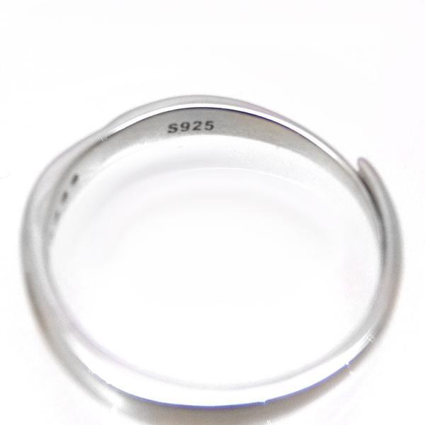 2本セット ペアリング 結婚 指輪 シルバーリング (t909)SV925 シルバー サイズ調整 chab-svrg1 プラチナメッキ|italybag|03