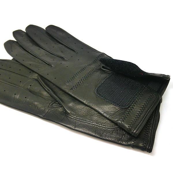 プラダ PRADA 手袋 グローブ prg468 nero 本革 レザー ブラック 黒 ブランド小物 8032711444585 (t807) グラブ M L|italybag|02