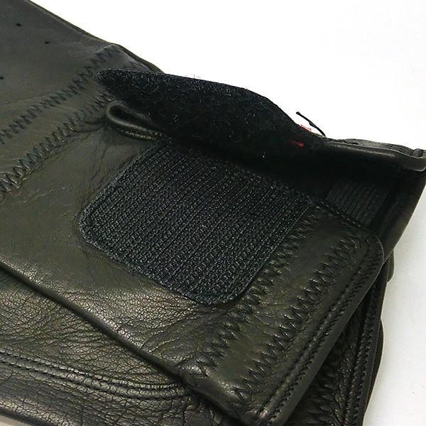 プラダ PRADA 手袋 グローブ prg468 nero 本革 レザー ブラック 黒 ブランド小物 8032711444585 (t807) グラブ M L|italybag|05