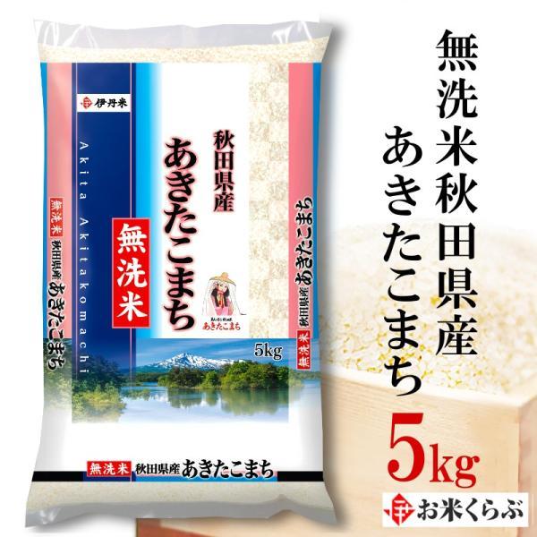 あきたこまち 無洗米 秋田県産あきたこまち 5kg 送料無料 令和2年産 無洗米 お米 白米 お中元 熨斗承ります