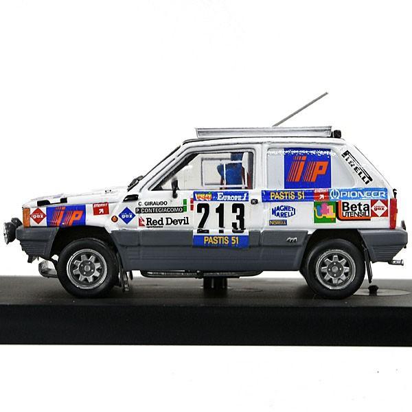 1/43 フィアット Panda 4×4 1984年パリ・ダカール仕様ミニチュアモデル (R442/No.213)|itazatsu|03