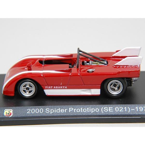 1/43 アバルト Collection No.22 2000 SPIDER PROTOTIPO SE021 1971年ミニチュアモデル|itazatsu|03