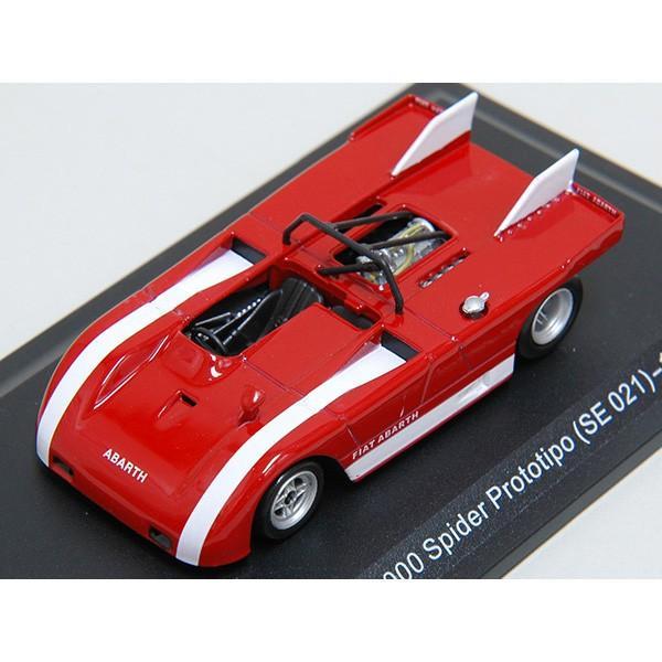 1/43 アバルト Collection No.22 2000 SPIDER PROTOTIPO SE021 1971年ミニチュアモデル|itazatsu|05