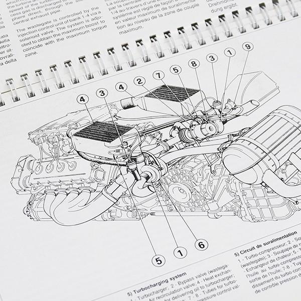 フェラーリ F40テクニカルマニュアル (オリジナル版)|itazatsu|08