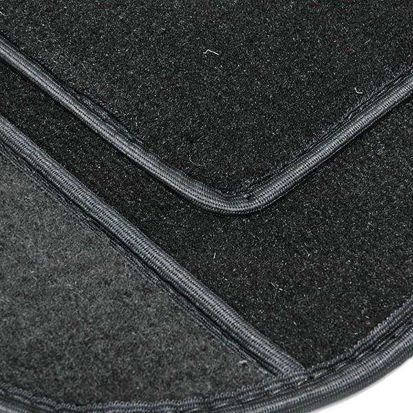フィアット NEW 500 アバルト フロアマット(ブラック/右ハンドル)|itazatsu|04