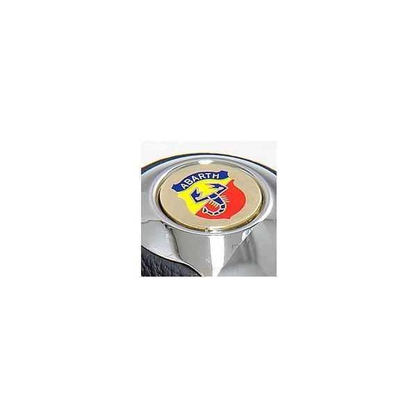 BLACK社製アルミ&レザーシフトノブ -TUNE IT CHROME- (リバースロック/アバルトエンブレム)|itazatsu|05