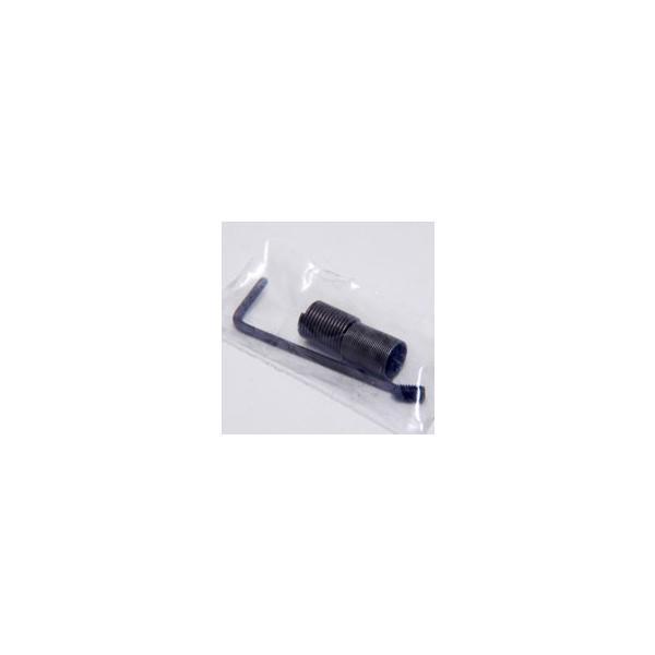 BLACK社製アルミ&レザーシフトノブ -TUNE IT CHROME- (リバースロック/アバルトエンブレム)|itazatsu|06