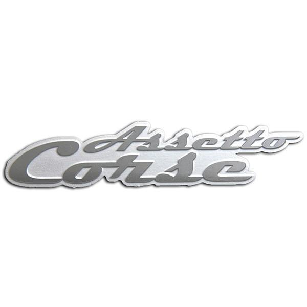 アバルト Assetto Corseメタルエンブレム