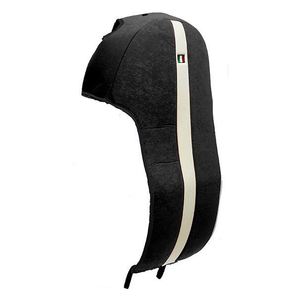 フィアット NEW 500シートカバー&ヘッドレストセット -SMOKING BLACK-|itazatsu|04