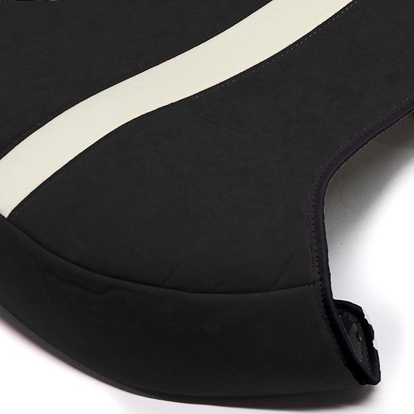 フィアット NEW 500シートカバー&ヘッドレストセット -SMOKING BLACK-|itazatsu|05