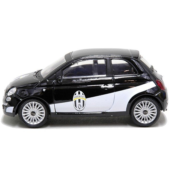1/43 FIAT NEW 500ミニチュアモデルJUVENTUSヴァージョン(ブラック)|itazatsu|03
