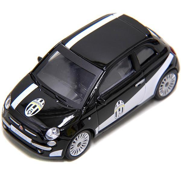 1/43 FIAT NEW 500ミニチュアモデルJUVENTUSヴァージョン(ブラック)|itazatsu|04