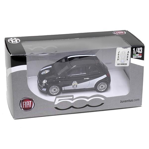1/43 FIAT NEW 500ミニチュアモデルJUVENTUSヴァージョン(ブラック)|itazatsu|05