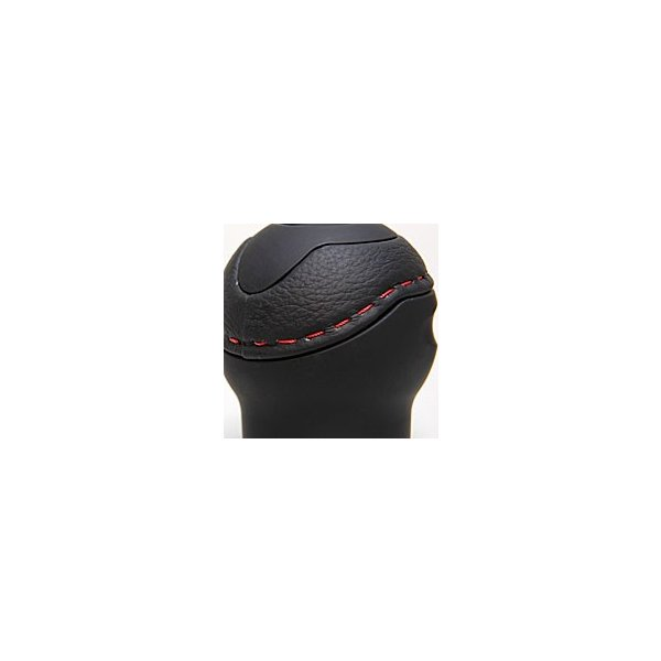 BLACK社製アルミ&レザーシフトノブ -TUNE IT BLACK- (ノーマル/アバルト NEWエンブレム) itazatsu 05
