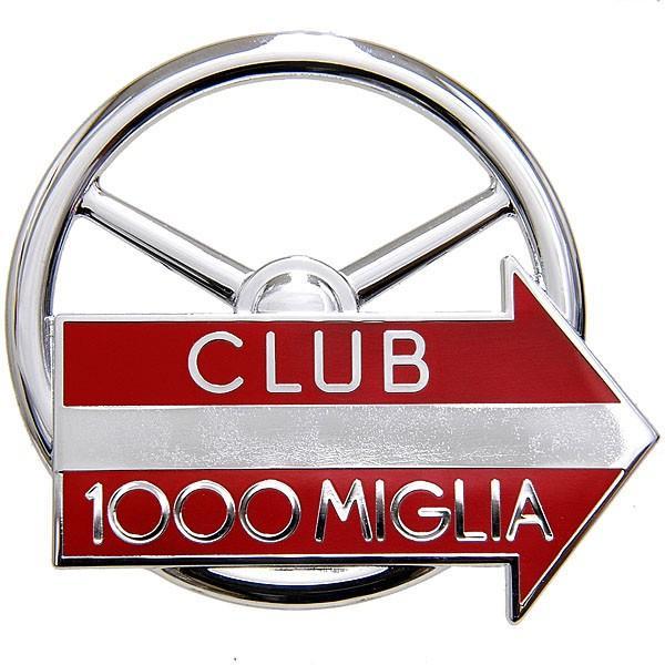 CLUB 1000 MIGLIA純正グリルエンブレム (クロームシルバー)|itazatsu