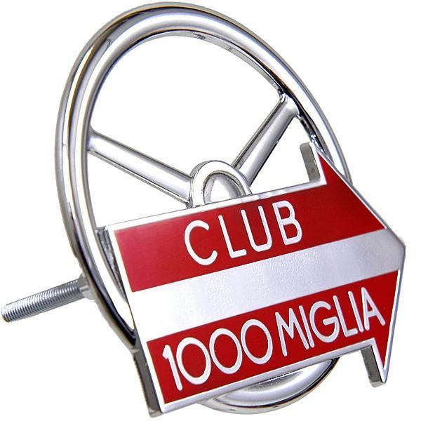 CLUB 1000 MIGLIA純正グリルエンブレム (クロームシルバー)|itazatsu|02