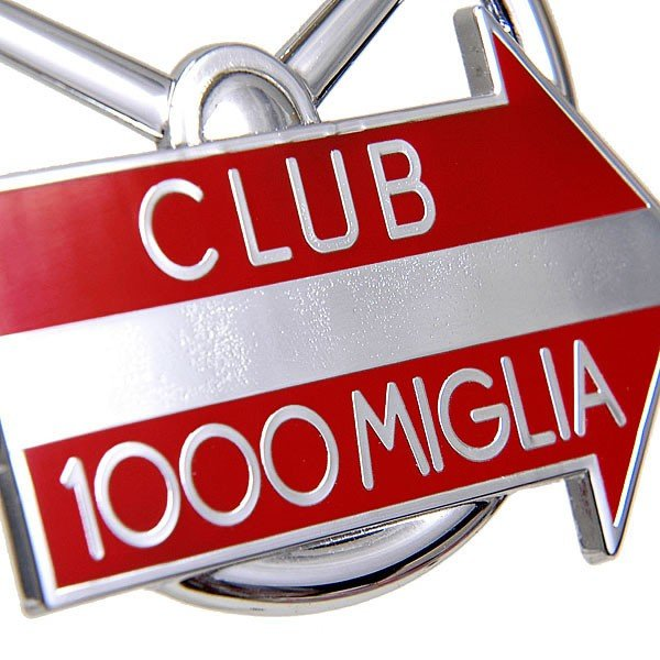 CLUB 1000 MIGLIA純正グリルエンブレム (クロームシルバー)|itazatsu|03