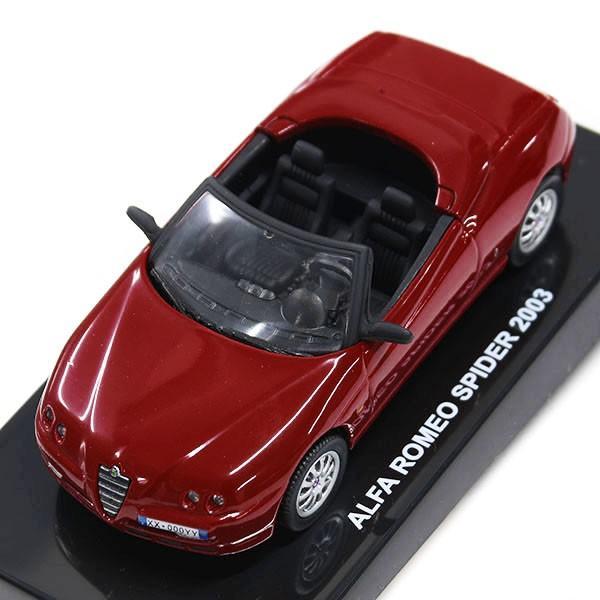1/43 アルファロメオ Spider 2003年ミニチュアモデル |itazatsu|07