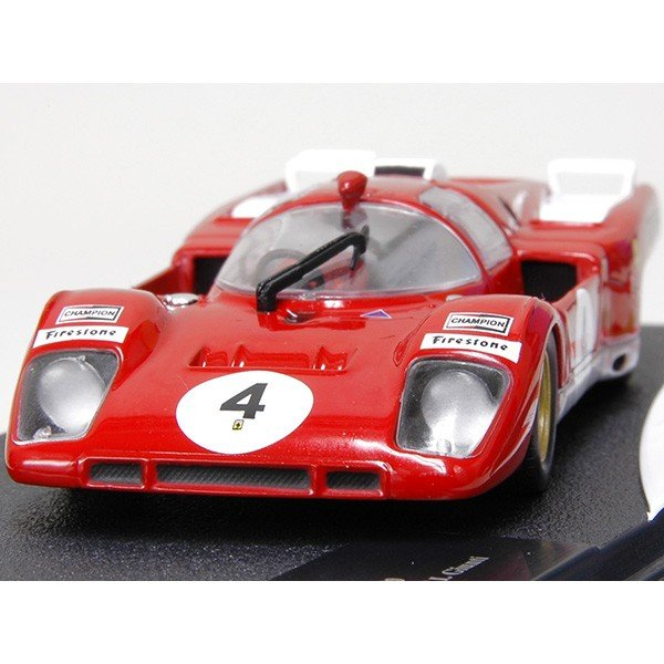 1/43 フェラーリ Racing Collection No.10 512Mミニチュアモデル|itazatsu