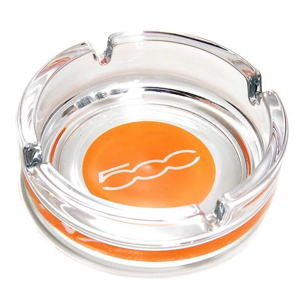 フィアット 500ロゴガラスアッシュトレイ|itazatsu