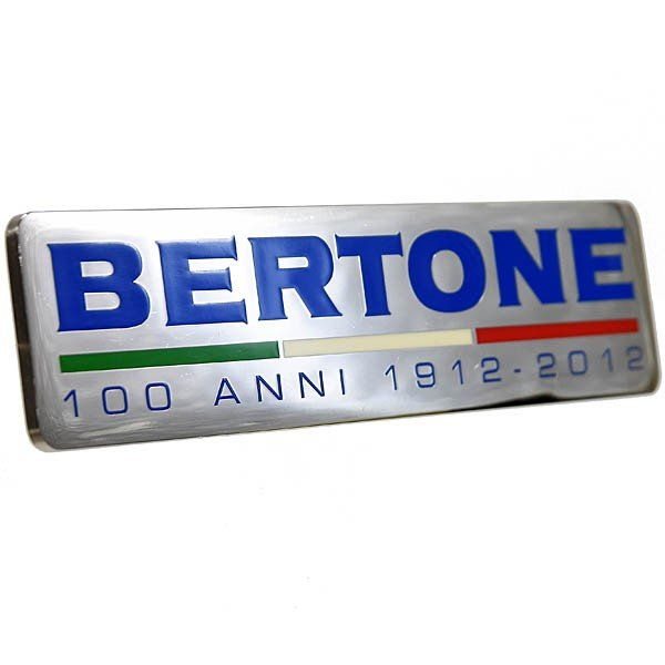 BERTONE創立100周年メモリアルエンブレムプレート itazatsu