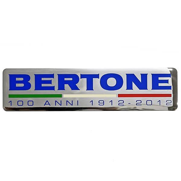 BERTONE創立100周年メモリアルエンブレムプレート itazatsu 02